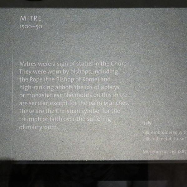 Mitre info card 219-1881