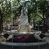 The Shakespeare Water Fountain in Leicester Square