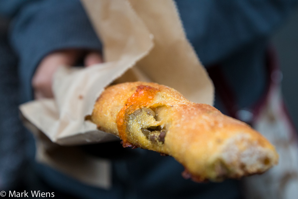 cheese and olive stick