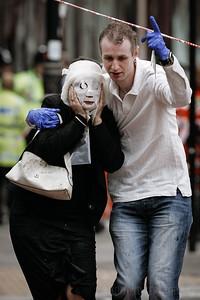 Terrorist Suicide Bombing; Edgware Road Tube