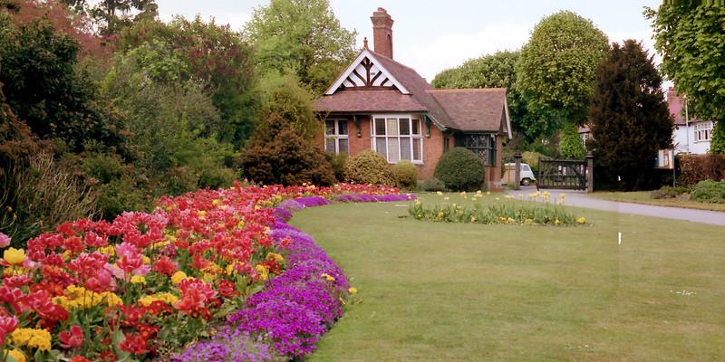 John Innes Park - Gate House - Merton Park - 1980s