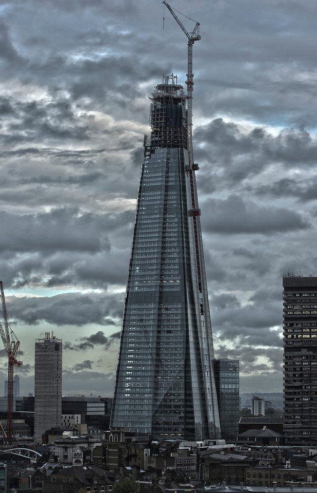 Almost Finished - The Shard