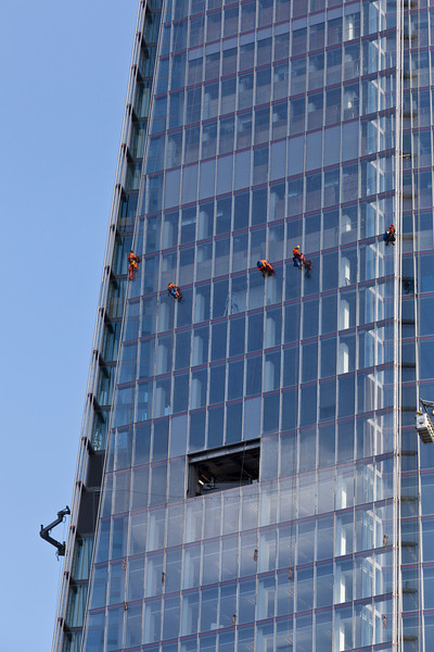 Cleaning The Shard