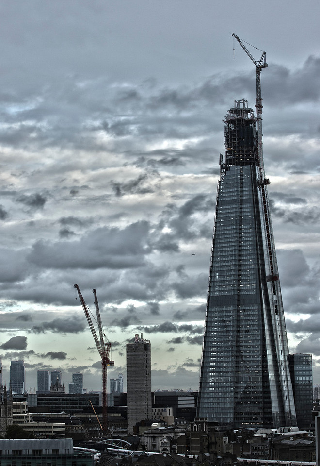 The Shard - almost finished
