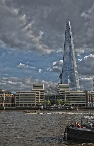 The Shard and the River Thames