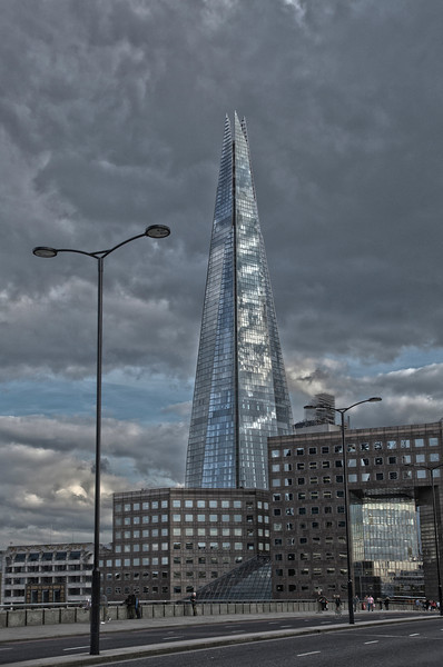 Walking Across London Bridge