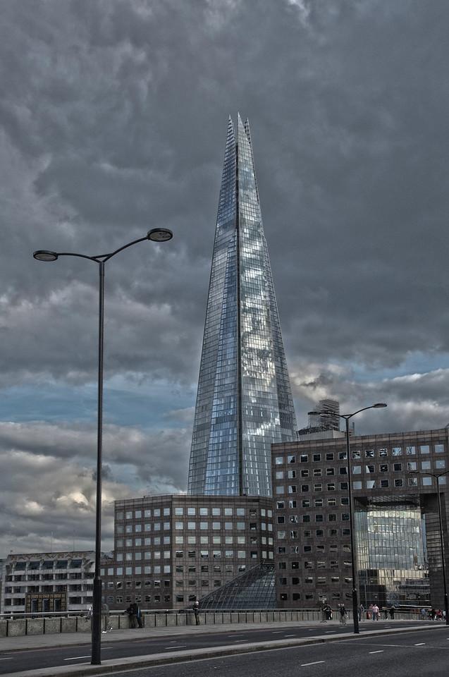 Walking Across London Bridge