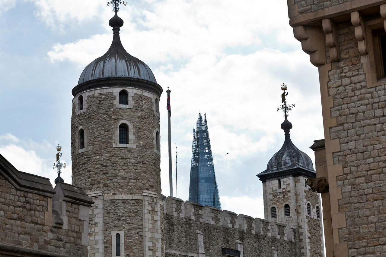The Tower of London and The Shard