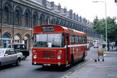 London Buses BL49 Pancras Road London Jun 88