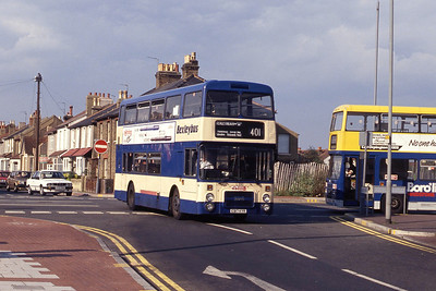 London Buses L280 Bexleyheath Bus Stn Sep 90
