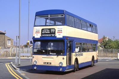 London Buses 90 Bus Station Bexleyheath London Sep 88