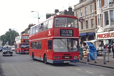 London Buses L331 Whitechapel Rd London Sep 94