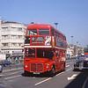 London Buses RML2645 Notting Hill Gate London Jun 89