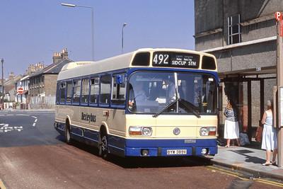 London Buses 63 Geddes Place London Bexleyheath Sep 88