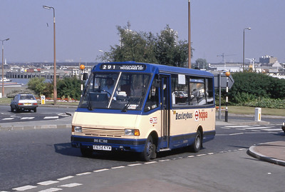 London Buses 34 John Willson Street Woolwich London Sep 88