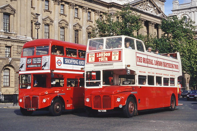 London Buses ERM235_RM2179 Parliament St London Sep 94