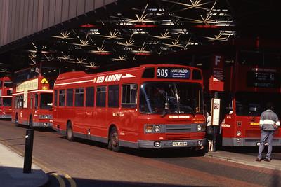 London Buses LS469 London Bridge Station Sep 90