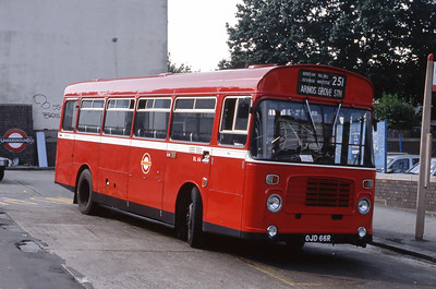 London Buses BL66 Arnos Grove Station London Sep 88