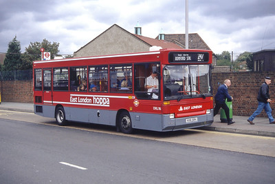 London Buses DRL116 Romford Market Sep 94