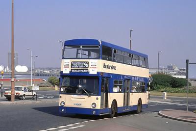 London Buses 97 John Willson Street Woolwich London Sep 88