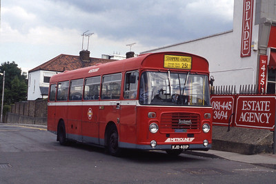 London Buses BL1 Totteridge Station 2 Sep 90