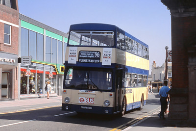 London Buses 82 Mayplace Road Bexleyheath London Sep 88