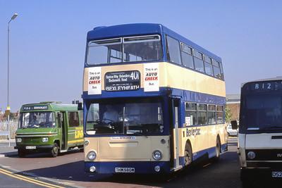 London Buses 78 Bus Station Bexleyheath London Sep 88