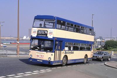 London Buses 80 John Willson Street Woolwich London Sep 88