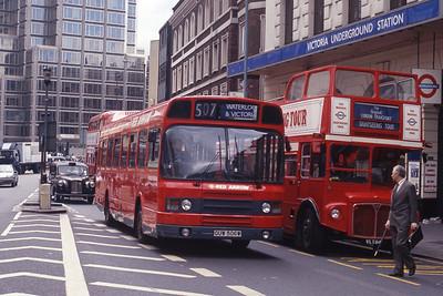 London Buses LS506 VIctoria Street London Sep 90