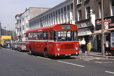 London Buses BL78 Archway Station London May 89