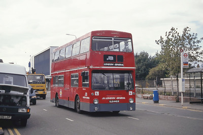 London Buses DMS1445 Cromwell Rd Kingston Sep 94