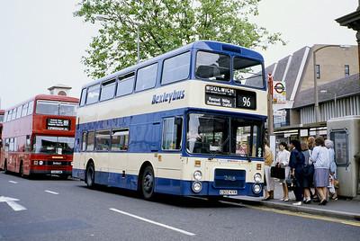 London Buses 2 Maypole Road Bexleyheath London Sep 88