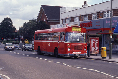 London Buses BL80 Burnt Oak Station Edgeware Sep 90
