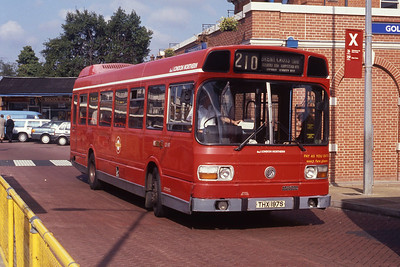 London Buses LS197 Golders Green Bus Stn London Sep 90 copy