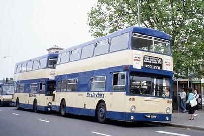London Buses 81 Maypole Road Bexleyheath London Sep 88