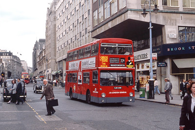 London Buses DMS2251 The Strand London May 89