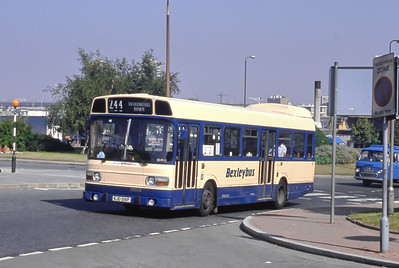 London Buses 41 John Willson Street Woolwich London Sep 88