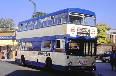 London Buses 82 Maypole Road West Bexleyheath London Sep 88