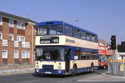 London Buses 12 Maypole Road West Bexleyheath London Sep 88