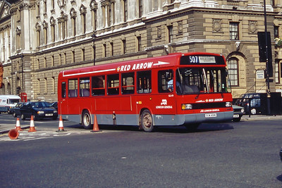 London Buses GLS491 Parliament Square London Sep 94