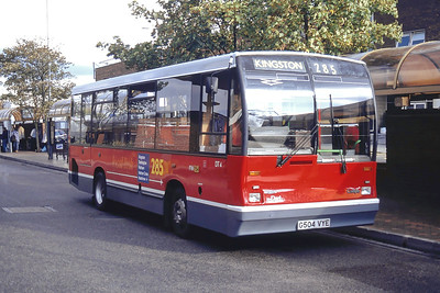 London Buses DT4 Heathrow Airport 1 Sep 94
