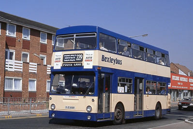 London Buses 107 Maypole Road West Bexleyheath London Sep 88