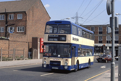 London Buses 8 Ring Road Crayford May 89