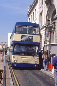 London Buses 94 General Gordon Square Woolwich May 89