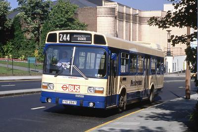 London Buses 58 John Willson Street Woolwich London Sep 88