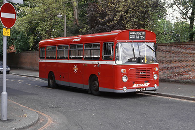 London Buses BL79 Stanmore Church London 2 May 89