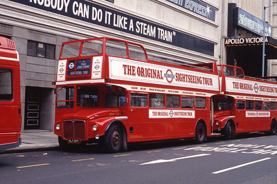 London Buses ERM237 Vauxhall Bridge Rd London Sep 90
