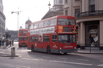 London Buses DMS2410 Duncannon Street London May 89