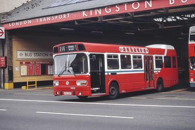 London Buses LS335 Kingston Bus Stn Sep 94