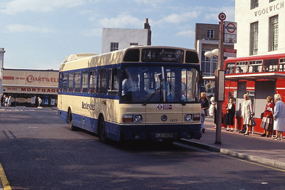 London Buses LS73 Woolwich Bus Stn Sep 90